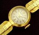 アンティーク ロレックス 9710/8 K18YG 金無垢 手巻き レディース腕時計【中古】