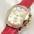 リトモラティーノ クラシコ クロノグラフ ステンレス製×本クロコ革 QCRL21GS クォーツ メンズ腕時計【新品】