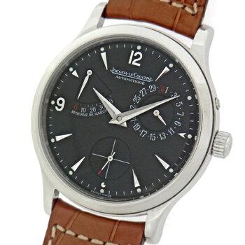 【JAGER-LECOULTRE】ジャガールクルトマスターリザーブマルシェQ1488470ブラック自動巻きメンズ腕時計【】