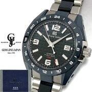 【中古】ギャラ付きグランドセイコーSBGJ233スポーツコレクションノンポリッシュ自動巻きメンズ腕時計
