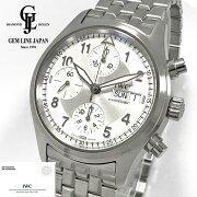 【中古】ギャラ付IWCスピットファイヤ—クロノグラフオートマティックIW370623メンズデイデイト腕時計