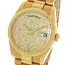 【ROLEX】ロレックス デイデイト 118238A コンピュータ ダイヤインデックス K18YG 金無垢 Y番 自動巻き メンズ 腕時計【中古】