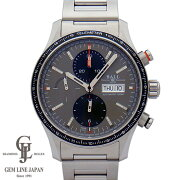 【美品】ボール・ウォッチストークマンストームチェイサープロCM3090C-S1J-GYグレー文字盤42mm裏スケSSクロノグラフ自動巻メンズ腕時計【中古】