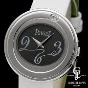 【中古】ピアジェポセション1PダイヤモンドWG/革レディース腕時計