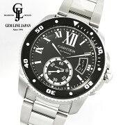 【中古】ギャラ付カルティエカリブルドゥカルティエダイバーW7100057メンズ自動巻腕時計