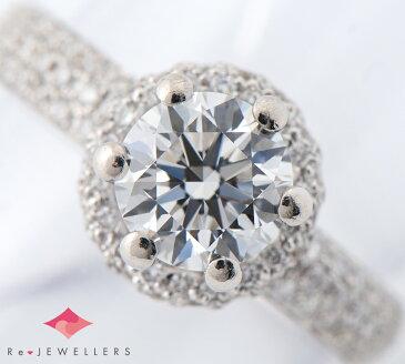 ダミアーニ ダイヤモンド1.01ct ダイヤモンド 18金ホワイトゴールド 9号 リング・指輪【中古】(2200000251275)