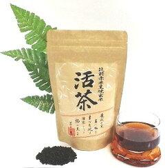黒焼き赤米玄米茶活茶筑前赤米玄米