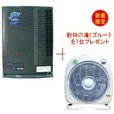產品詳細資料,日本Yahoo代標|日本代購|日本批發-ibuy99|スーパークリーン一番+新林の滝(ブルー)  台数限定 キャンペーンお部屋の空気を清浄化し、空気中の…