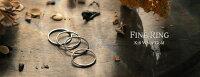 18金ホワイトゴールド選べる4デザイン「DM便送料無料」シルバーリングプレゼント!!K18PG「FineRing」極細リングリング華奢レディース指輪重ね着けピンキーリング細身プレゼントギフト日本製