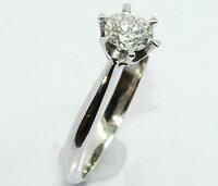 【送料無料】Ptダイヤモンド-0.505ct-AGT鑑定書付きエンゲージ/婚約リング【smtb-k】【w4】