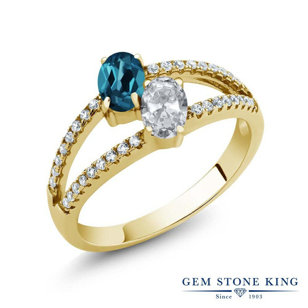 レディースジュエリー・アクセサリー, 指輪・リング Gem Stone King 1.41 () () 925