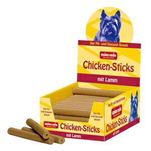 【PET】【送料無料】【アニモンダ】※ポイント5倍※ ドッグスナック チキンスティック(鳥肉と子羊肉) 1ケース(50本入)JAN:4017721829038【THC】