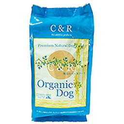 【PET】C&R オーガニックドッグ【5ポンド(2.27kg)】JAN:4580375300029【SGJ】
