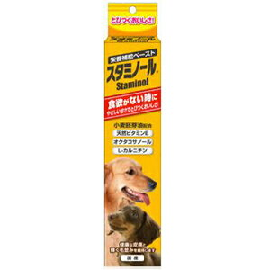 【PET】【アース・バイオケミカル株式会社】アース スタミノール食欲【100g】JAN:4994527860703【LZ】