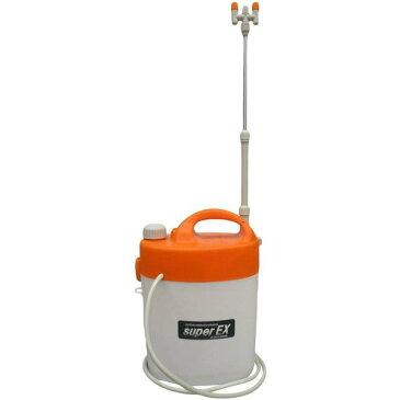 マルハチ産業 電池式噴霧器 B-5500 二頭口ノズル タンク容量5L ショルダーベルト付き 消毒液 次亜塩素酸水 噴霧 除菌作業