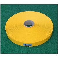 Glakenブーブーライン(ロールタイプ)3cm幅黄25m巻BBL3-25G(釘別売り)[駐車場駐輪場専用ラインテープ駐車場ライン引き]