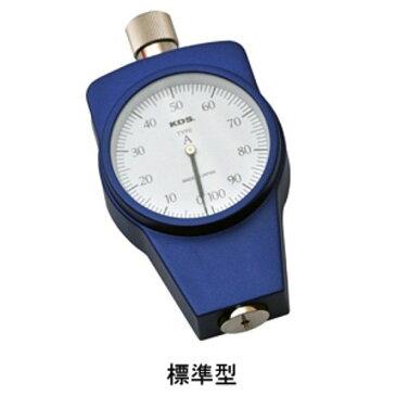 [送料無料] ムラテックKDS ゴム硬度計 タイプA DM-104A 標準型 手押し測定専用 [タイヤ ゴムホースなど一般ゴム用]