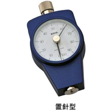 [送料無料] ムラテックKDS ゴム硬度計 タイプA DM-204A 置針型 手押し測定専用 [タイヤ ゴムホースなど一般ゴム用]