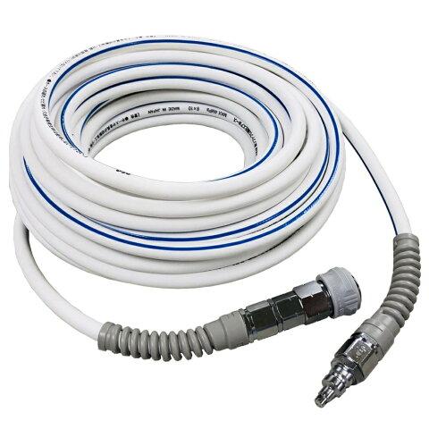 H&Mコーポレーション 超ソフトプロ高圧エアホース TKH615 ホワイト 長さ15m 内径6mm 最高使用圧力4.0Mpa
