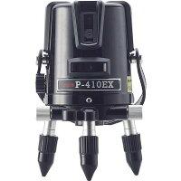[保証付・送料無料]MYZOXマイゾックスレーザー墨出器P-410EX本体セット[当店は安心のJSIMA認定店です]