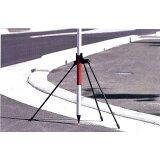 ハイビスカス ポールホルダーL 三脚タイプ PH-L 脚長860mm [水準測量 土木 地籍調査]