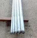 白ガス管 JFE-SGP オーダーサイズ(お好きな長さで加工します。)両ネジ加工 15A(1/2B) 0.3m(300mm)以下 (鉄管、配管パイプ、亜鉛メッキ鋼管、白管、水(上水道用を除く)・空気・蒸気・油・ガス等の流体の輸送用)