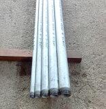 白ガス管 JFE-SGP オーダーサイズ(お好きな長さで加工します。)両ネジ加工 15A(1/2B) 0.5m(500mm)以下 (鉄管、配管パイプ、亜鉛メッキ鋼管、白管、水(上水道用を除く)・空気・蒸気・油・ガス等の流体の輸送用)