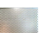 パンチングメタル 鉄 SPCC φ3-P5 60゜千鳥 穴3ミリΦピッチ5 厚さ0.8ミリ 御希望の寸法で切断します サイズ 800mm×700mm以下 重量 2.35kg以下