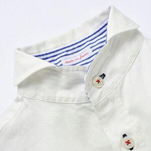 OCEANレディースヘチマ衿オープンシャツ2