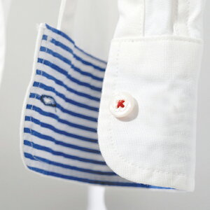 OCEANレディースヘチマ衿オープンシャツ3