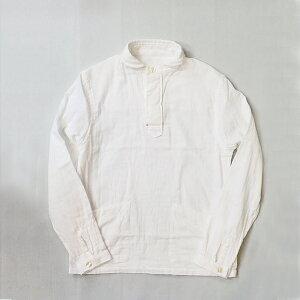 GENERALSTORE丸襟POガーゼポケットシャツユニセックス