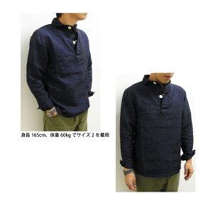GENERALSTORE丸襟POガーゼポケットシャツ【6224】