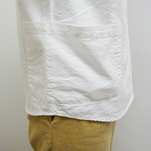 【DanaFaneuil(ダナファヌル)】ヘチマ衿プルオーバーポケットシャツ