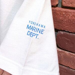 "OCEANUNIONMarineDepartmentデザインプリントTシャツ""swarmsoffish魚群"""