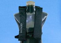 自動膨張式ライフジャケット(黒)