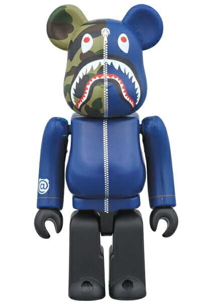 コレクション, フィギュア BERBRICK BAPE 1st CAMO SHARK 1000 NAVYA BATHING APE medicom toy