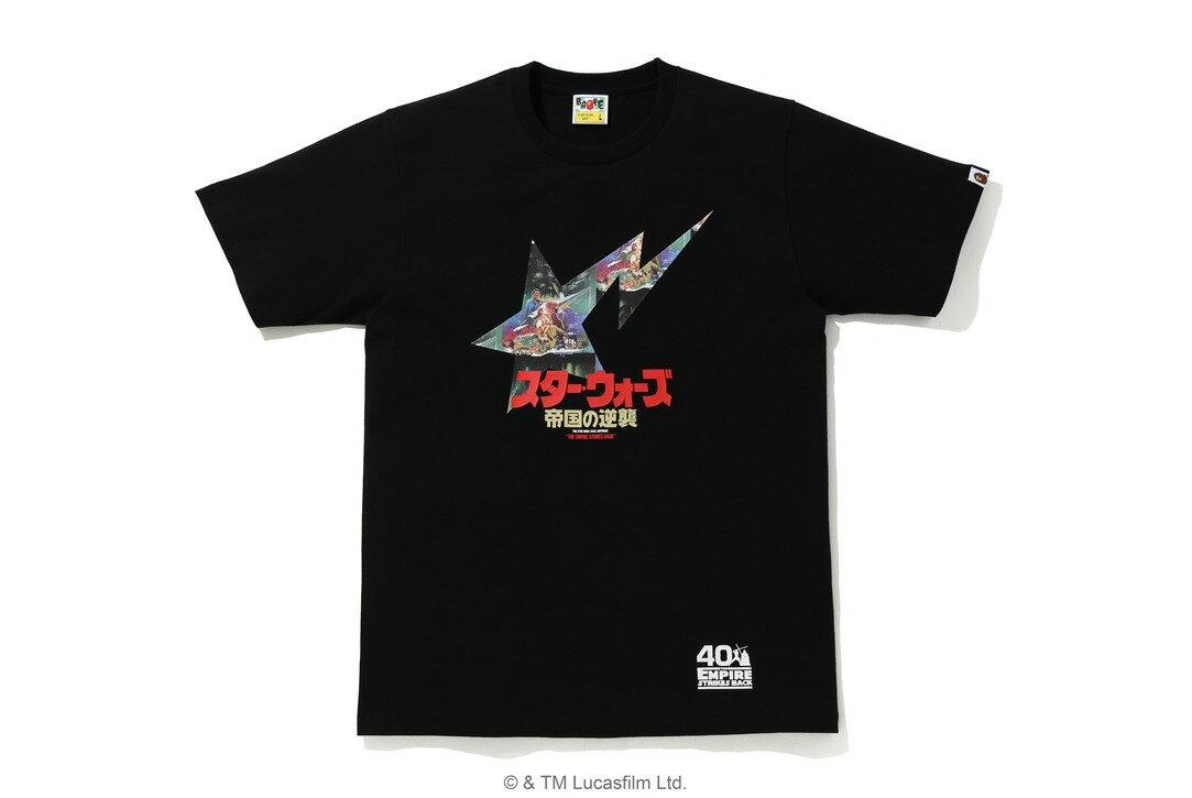 トップス, Tシャツ・カットソー STAR WARS X BAPE BAPE STA TEEBLACKa bathing ape 2020