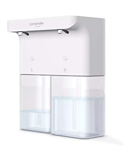 2020年 Umimile ソープディスペンサー 自動 泡 ハンドソープ 充電 タッチセンサー 吐出量2段階調整 ディスペンサー オート 600ml 防