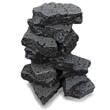 ボルケーノロック 溶岩石プレート 水槽用 アクアリウム用 【2kg】 簡単レイアウトで大迫力の水槽に STC-YGAQ02