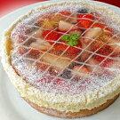 ビジューのケーキ【ルビー】・直径17cm