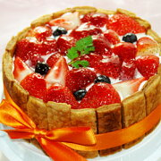 ミックス ストロベリー ブルーベリー フランボワーズ ショートケーキ バースデー