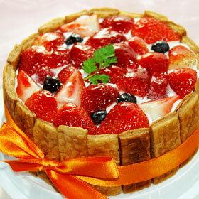 冷蔵( ホール ケーキ ホールケーキ )でお届け! バースデーケーキ パーティやお誕生日のプレゼ...