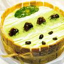 φ17cm 抹茶 ( matcha )の ショートケーキバースデーケーキ ホールケーキ 誕生日 【楽ギフ_包装】 その1