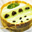 ☆抹茶(matcha)のケーキ直径15cm■京都二条寺町ジェニアル■生ケーキ
