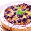 φ18cm ダークチェリー の タルトバースデーケーキ ホールケーキ 誕生日 【楽ギフ_包装】 その1