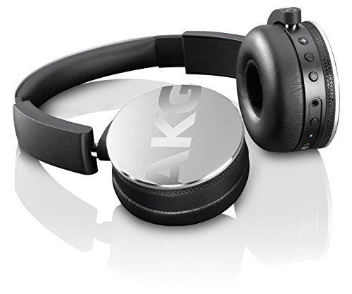 AKG Y50BT ワイヤレスヘッドホン Bluetooth 密閉型 DJスタイル シルバー Y50BTSLV