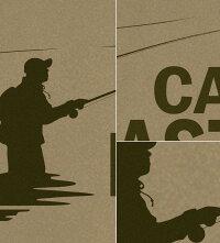GENJUTシャツメンズキャンプ釣りフィッシングフライ渓流アウトドアキャンパーキャンプギアCAMPOUTDOORSアメカジブランド半袖長袖tシャツティーシャツロンTCAMPMASTERType-4カーキブラック大きめサイズありXXLXXXL2L3L4L90-140cmXS-XXXL