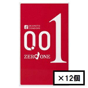 「送料無料」オカモト ゼロワン0.01ミリ 3P×12セット(コンドーム)