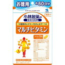 小林製薬 マルチビタミン お徳用60粒(約60日分)(ビタミン・ミネラルサプリメント)