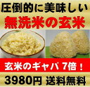 無農薬(農薬・化学肥料不使用栽培)の原料玄米100%使用圧倒的に美味しい発芽玄米(無洗米)は白米モードで楽々炊飯できます!【放射能検査済み⇒検出せず】無洗米の発芽玄米・原料は無農薬玄米(農薬・化学肥料不使用玄米)送料無料・真空パックの玄氣(げんき)4.5kg送料無料(静岡県磐田市産)